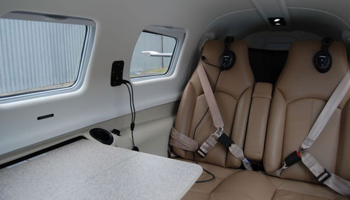 Piper Malibu Mirage Interior