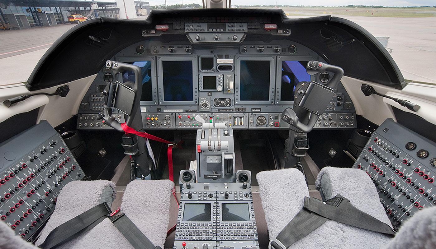 Learjet 60 Avionics