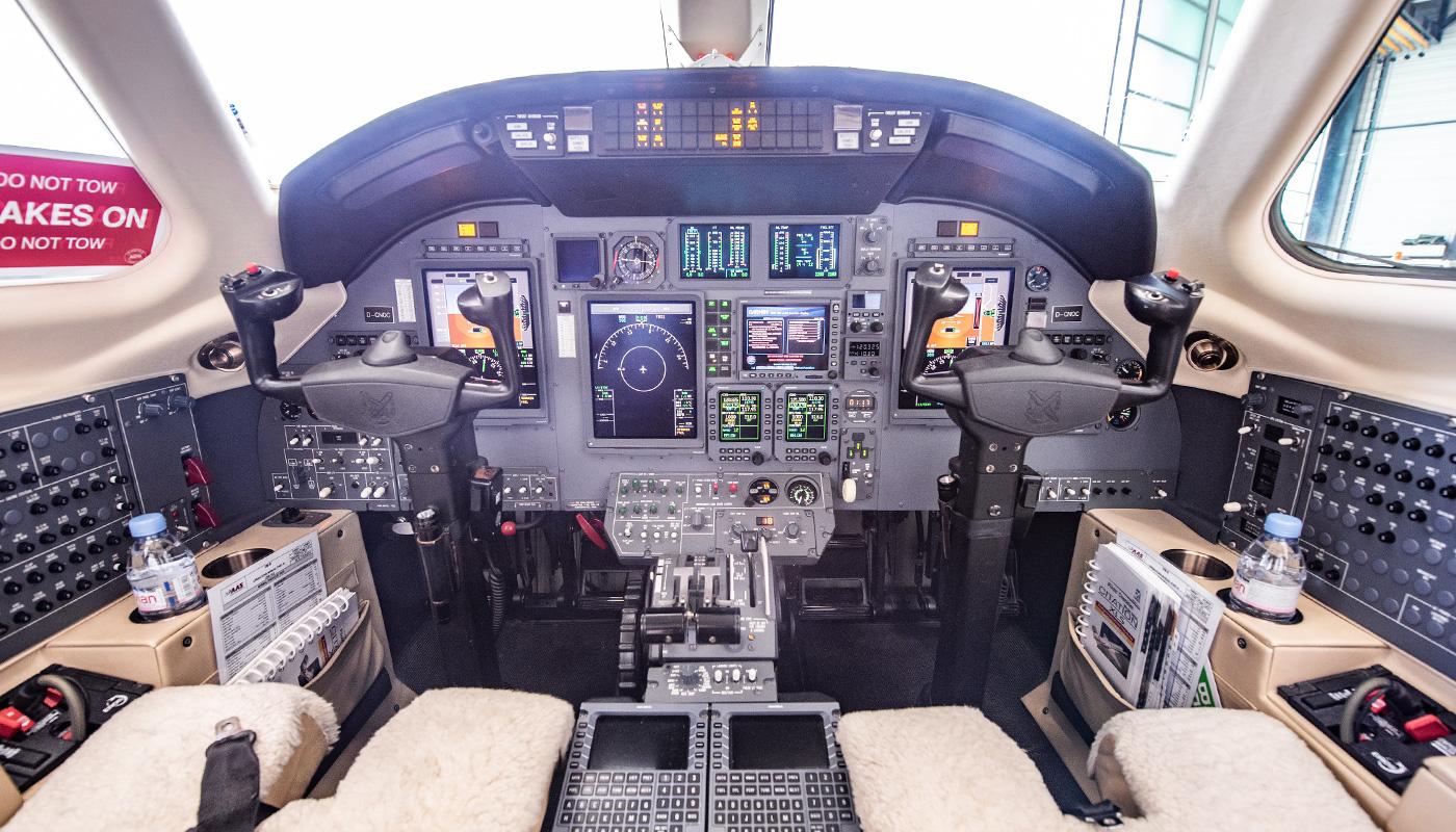 2008 Citation XLS Cockpit