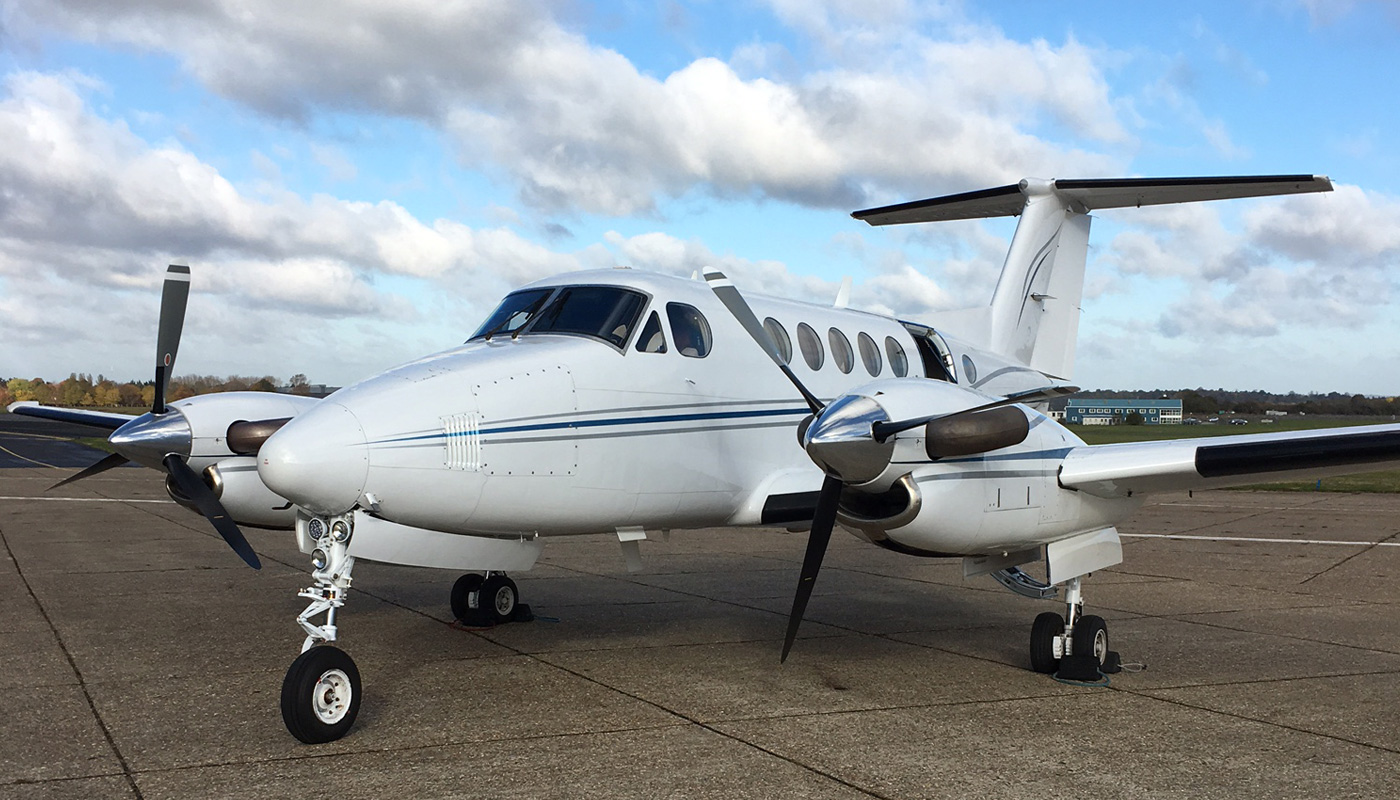 1977 Beech Super King Air 200, Reg: N4047C, MSN: BB202