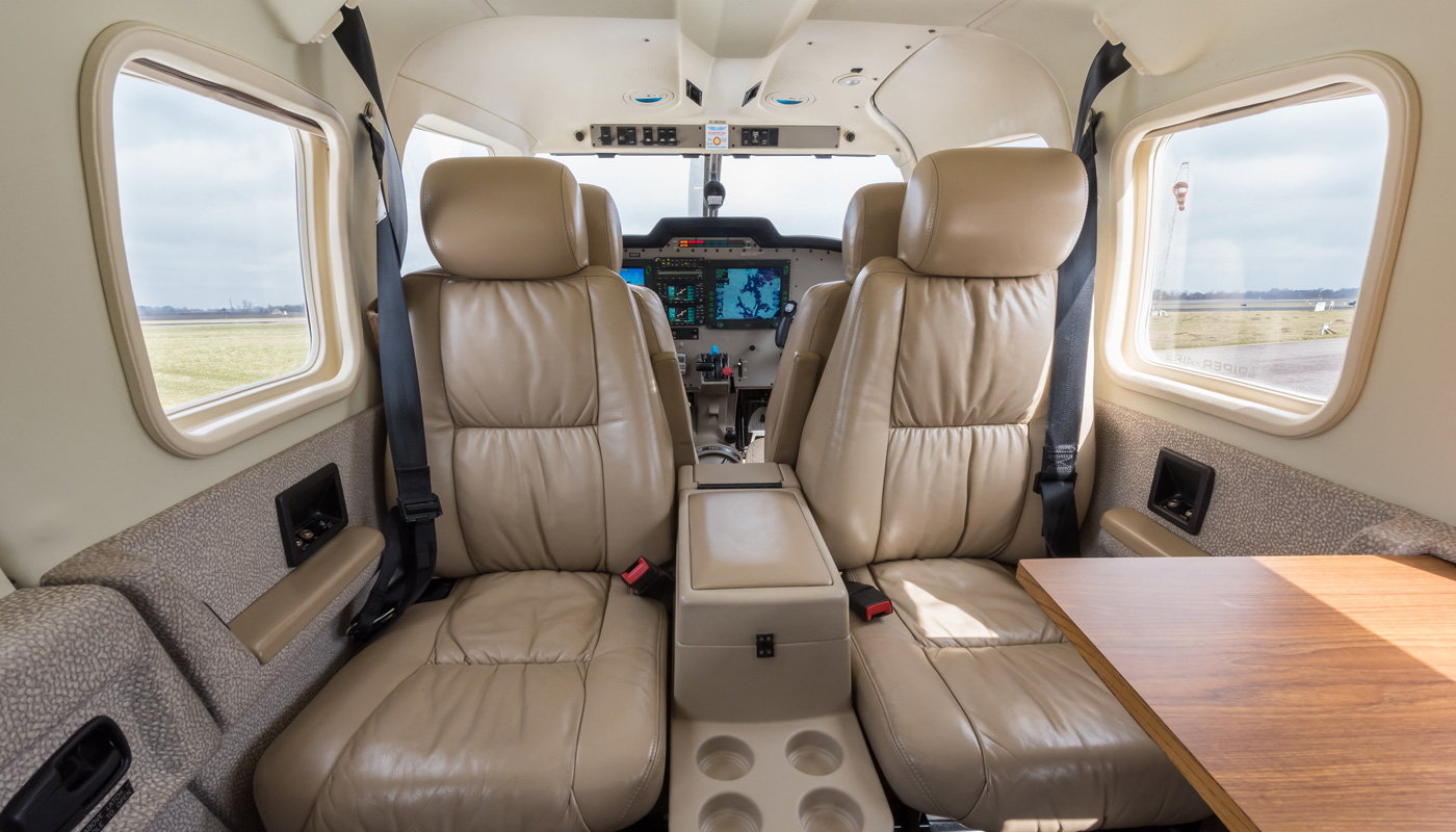 2004 Piper Saratoga Club Seating Forward View