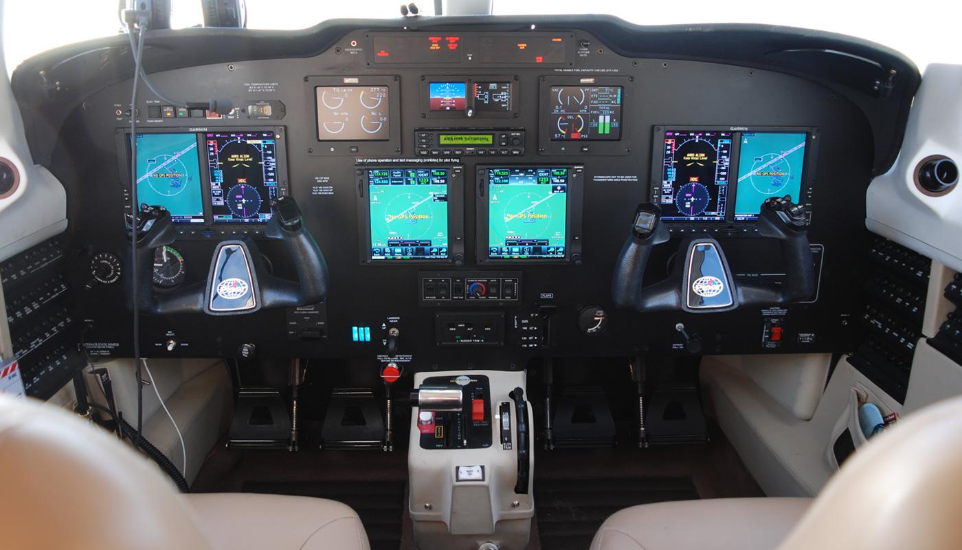 Piper M500 Upgraded Avionics
