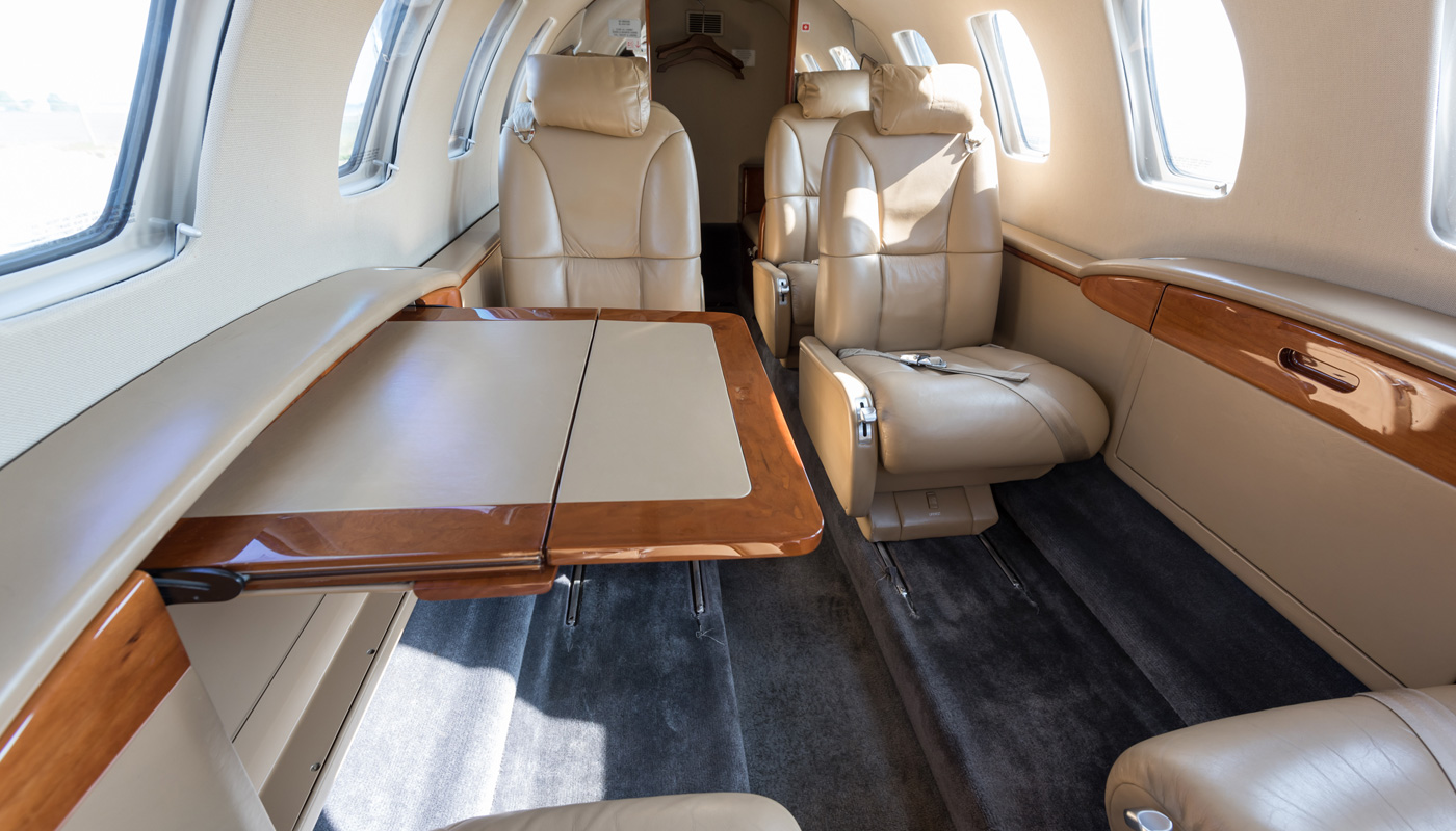 Cessna Citation CJ2 Interior Image2