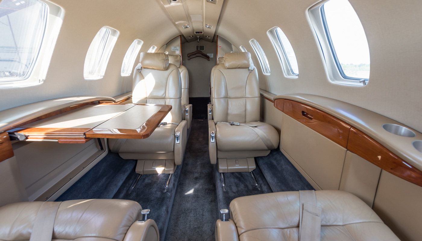 Citation CJ2 Interior Image