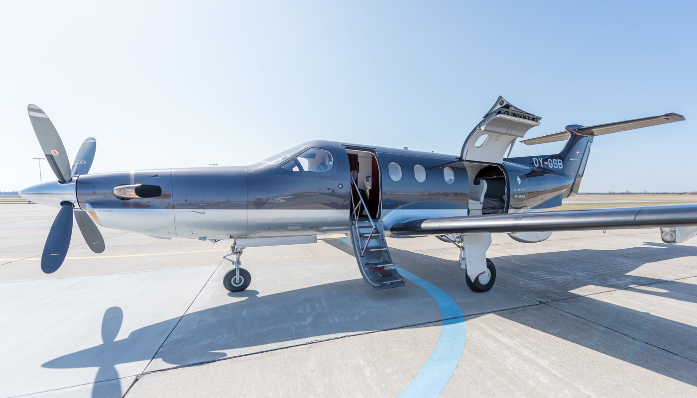 Pilatus PC-12/47 All Doors Open