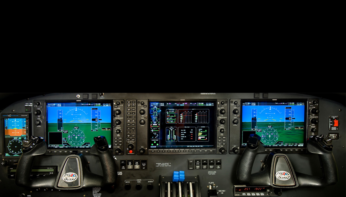Piper Seneca V With Garmin 1000NXi Avionics