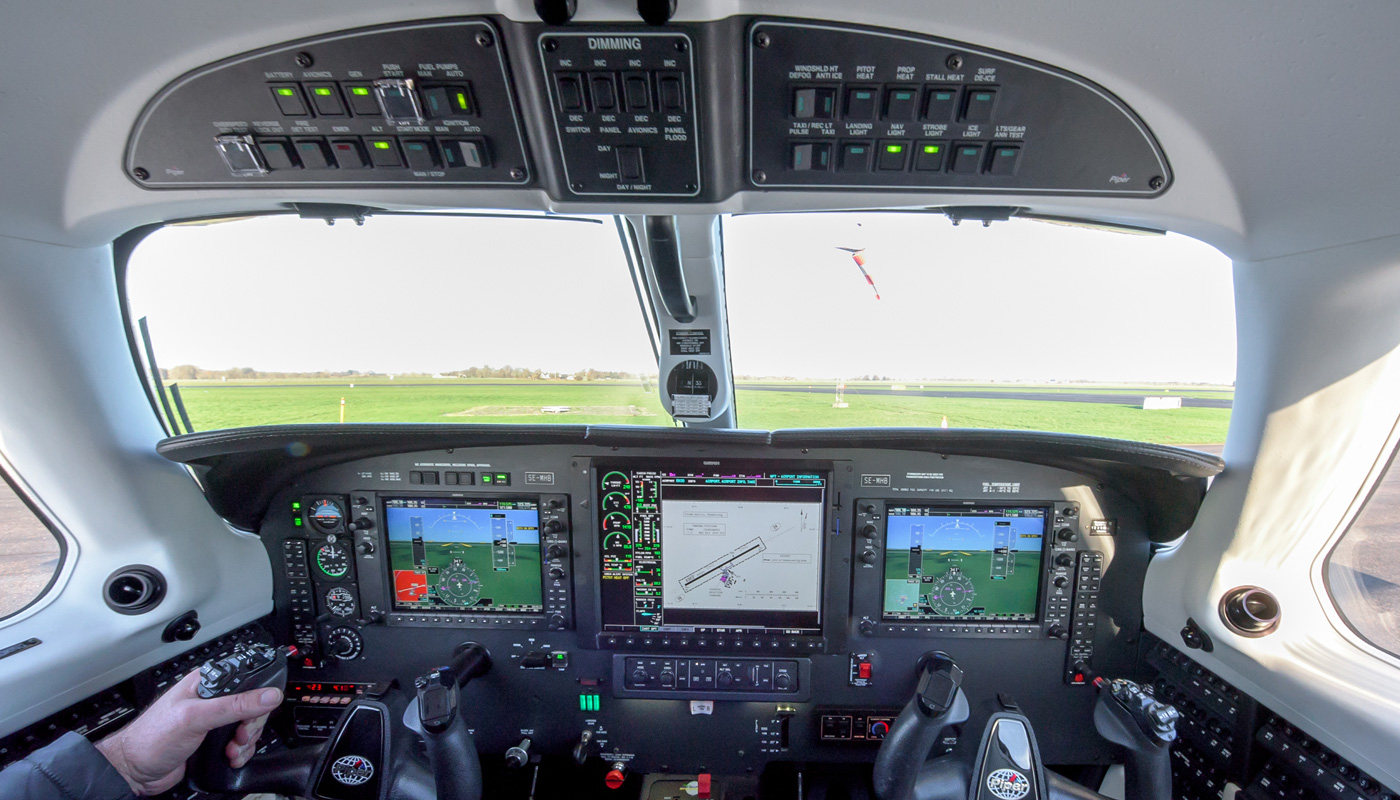 2014 Piper Meridan With Garmin 1000 Avionics
