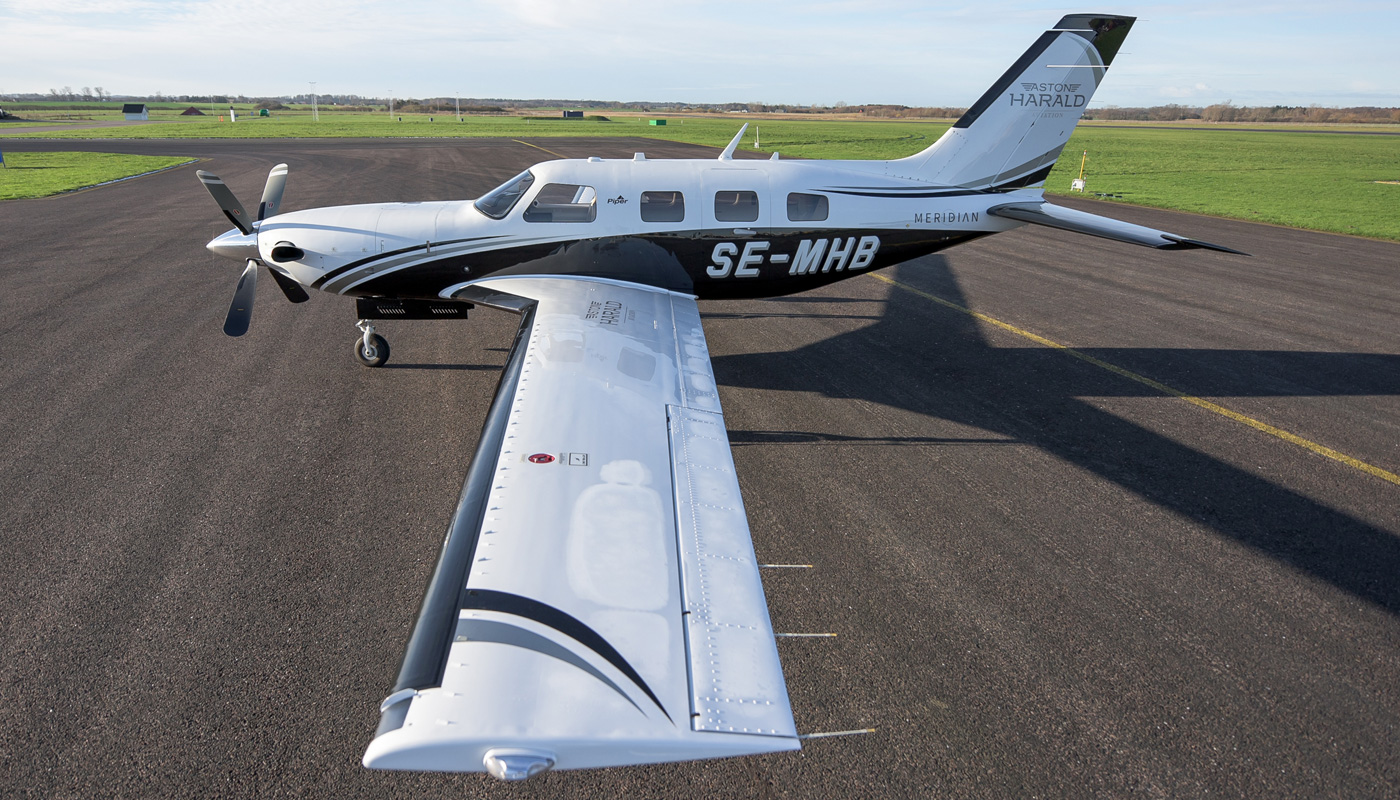 2014 Piper Meridian Above Wing
