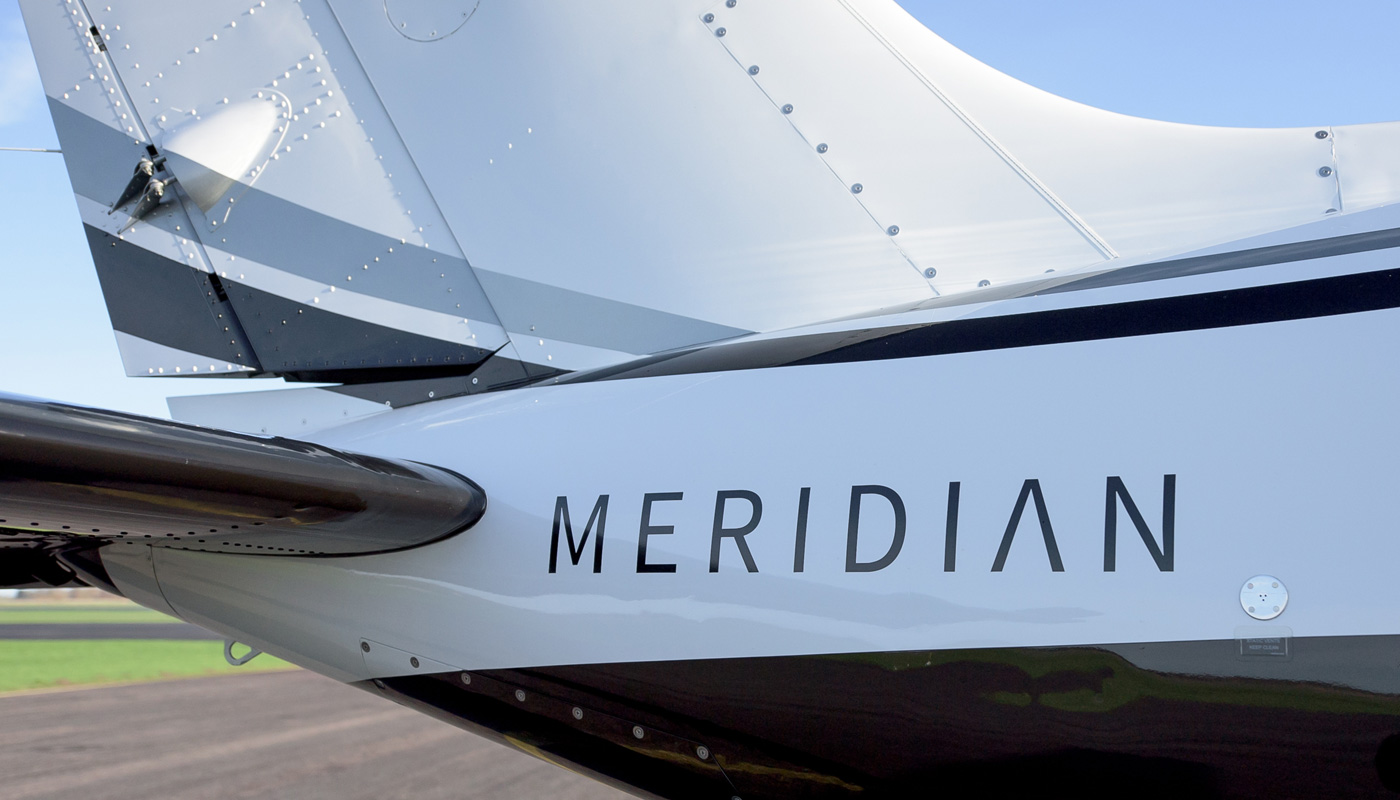 Piper Meridian On Aircraft