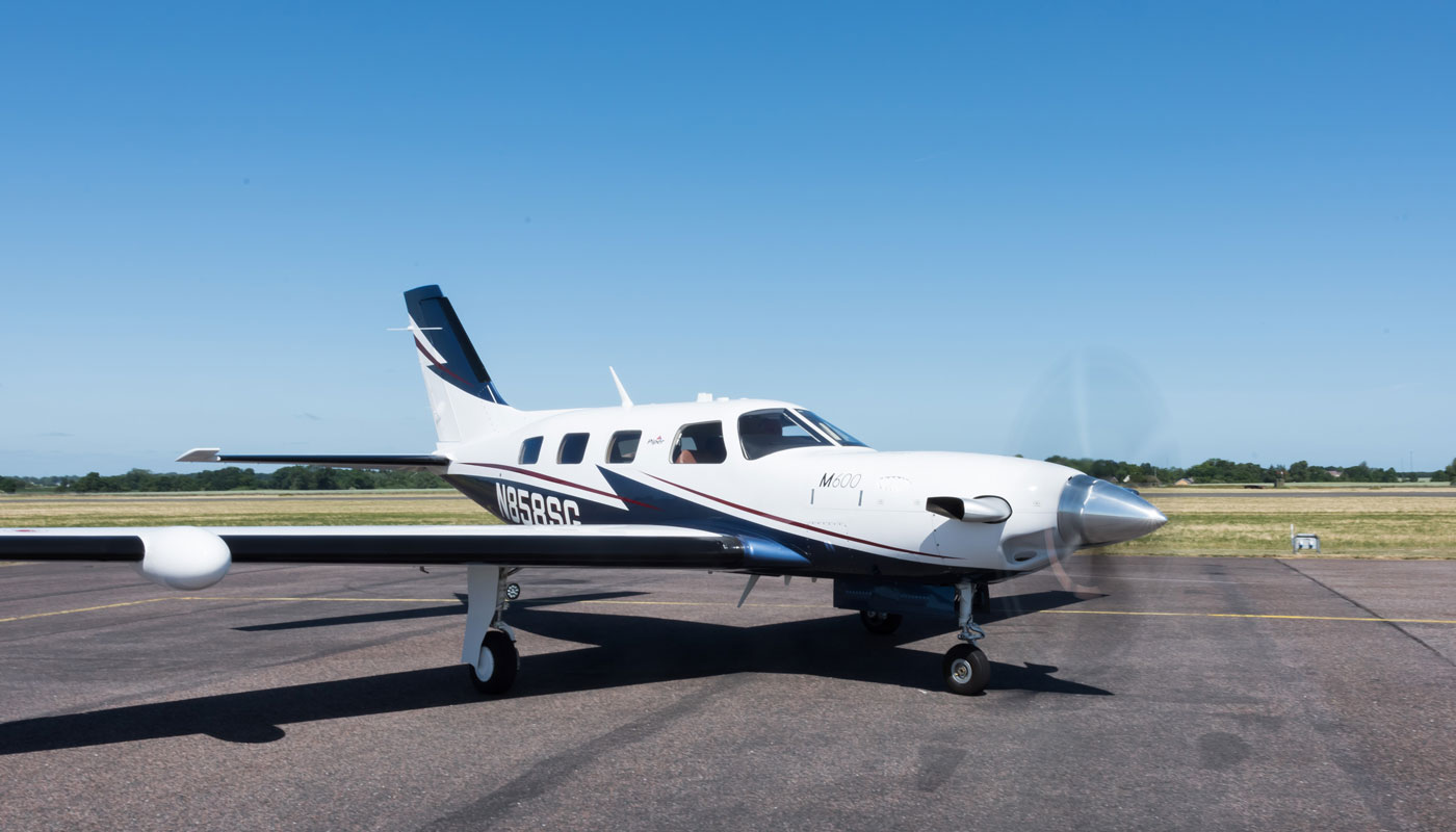 Piper-M600-N858SG-front2