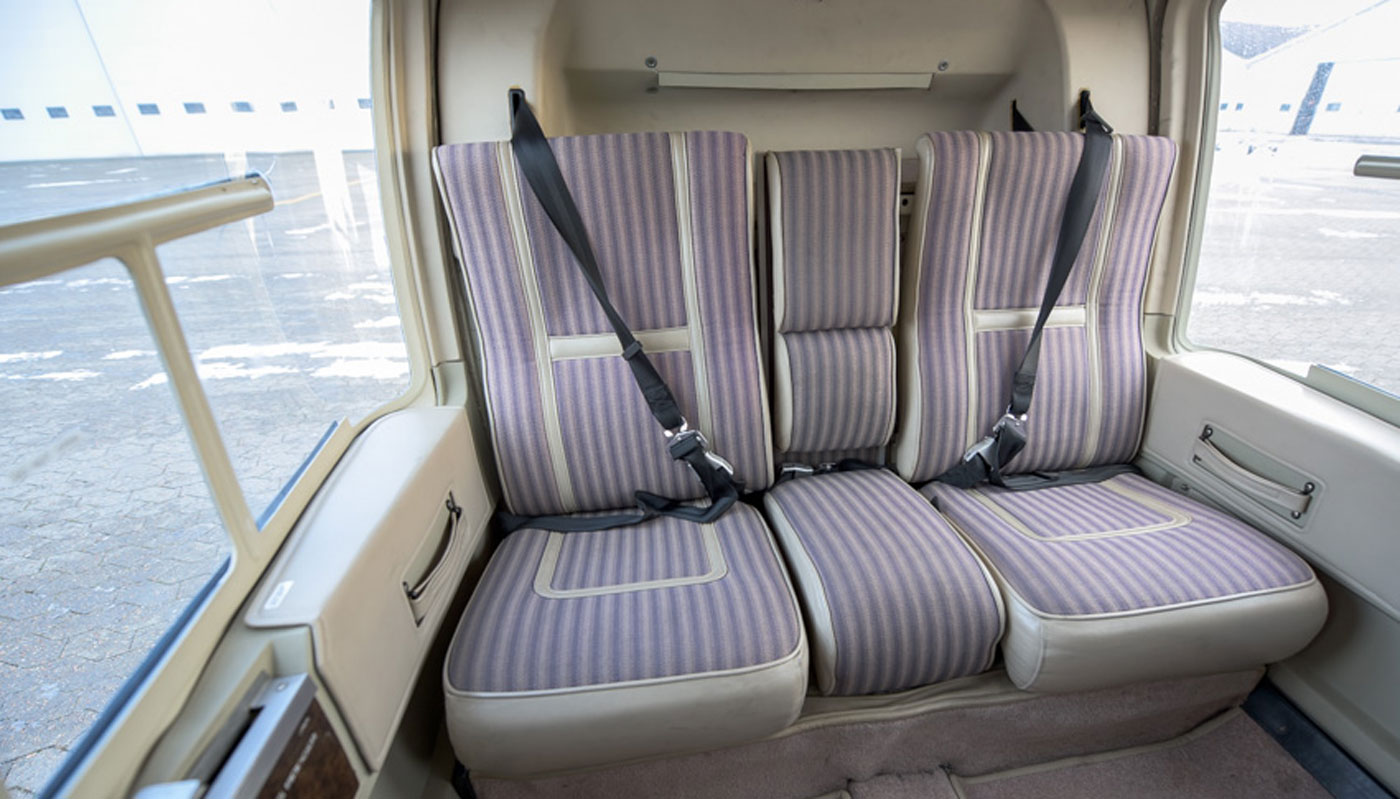 Bell 206L Longranger Interior