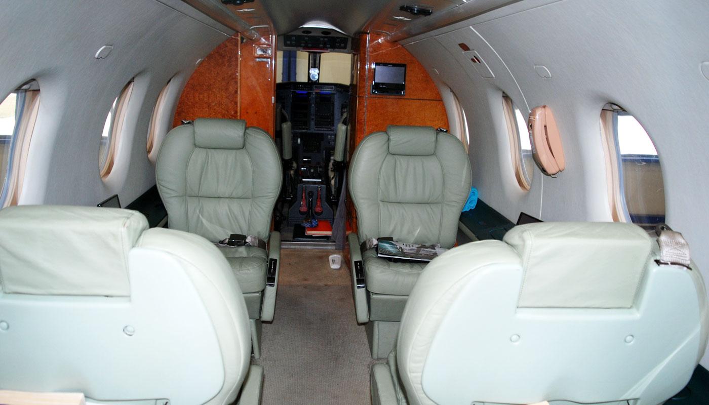 Pilatus PC 12 / 45 Interior