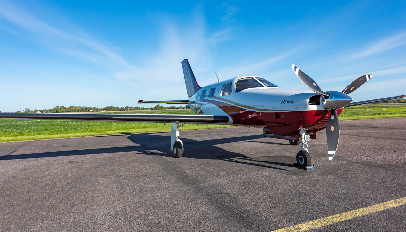 2012 Piper Matrix, N915C