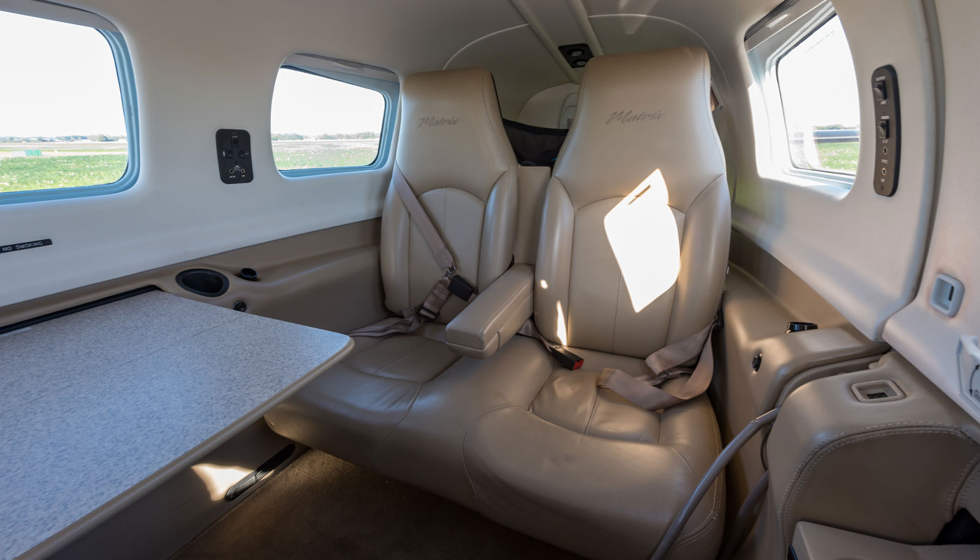 Piper Matrix Interior Rear Seats