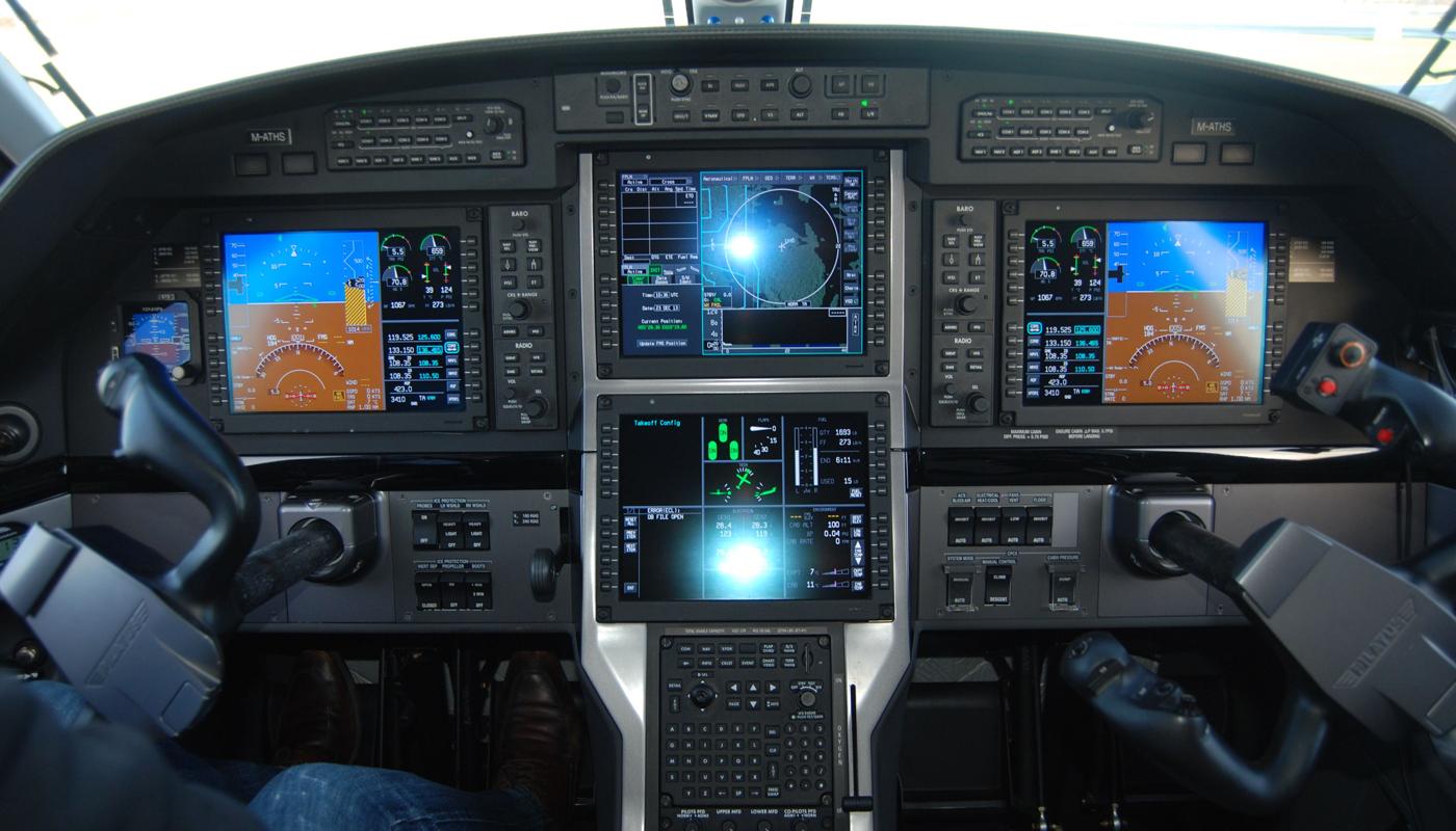 Pilatus PC 12NG Avionics