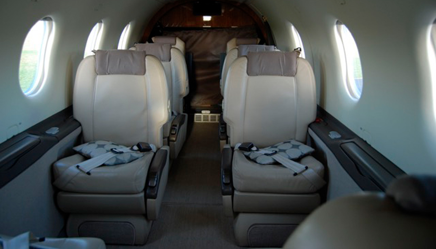 Pilatus PC 12NG Intrerior