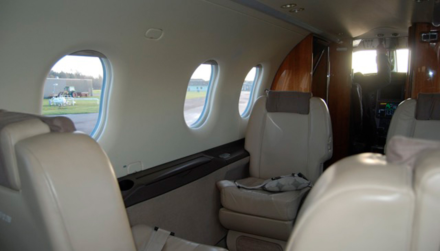 Pilatus PC 12NG Interior
