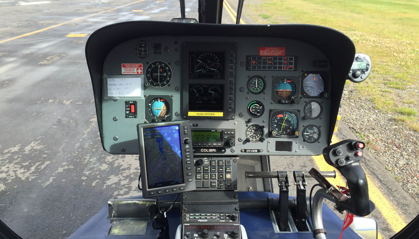 Airbus EC120B Helicopter Avionics