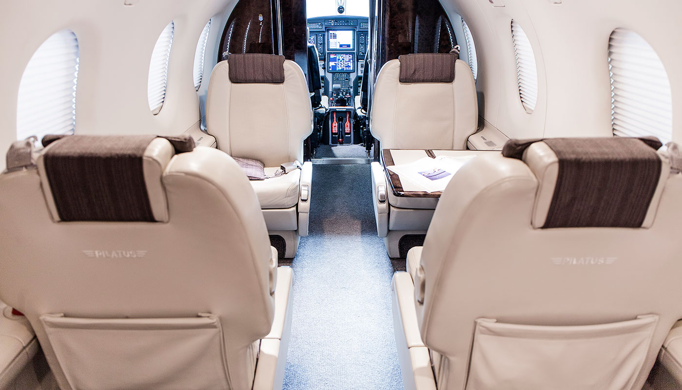 Pilatus PC-12 NG Interior