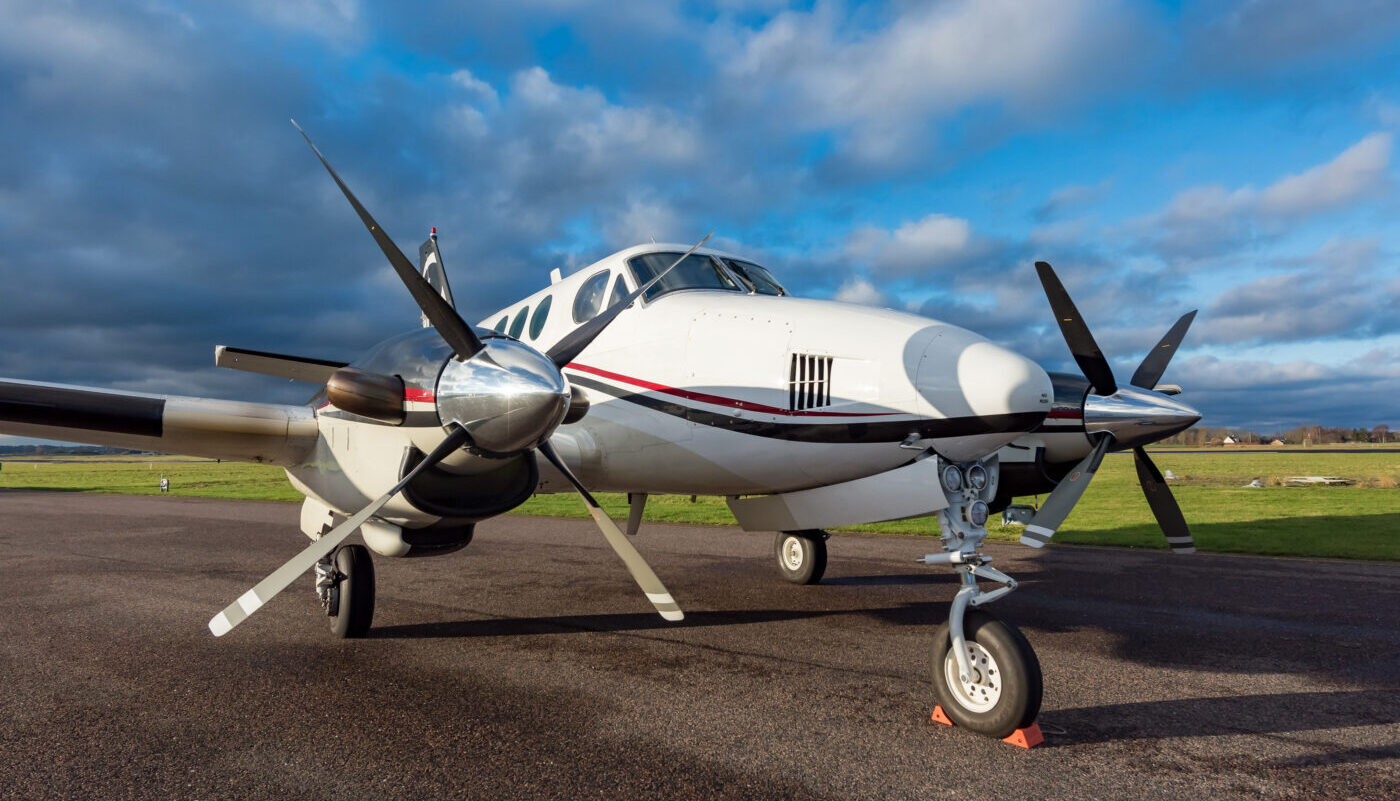 1977 Beech King Air C90, SE-IIB, for sale