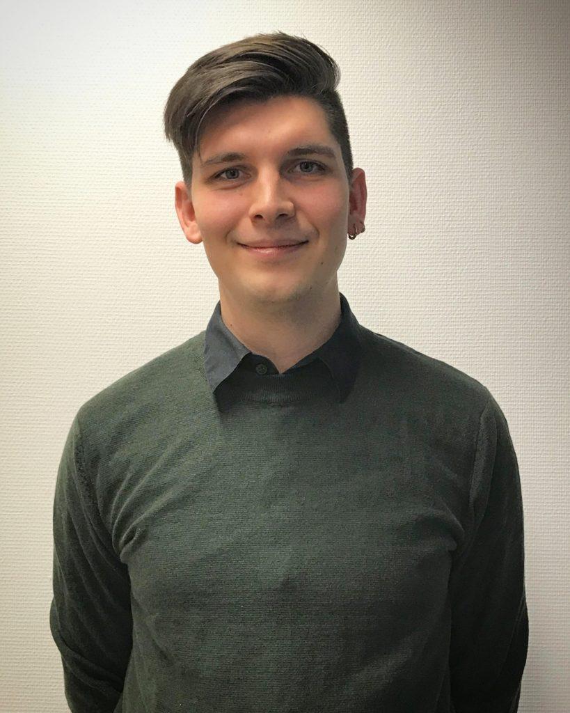Jakob Lyngbo, Marketing coordinator at EAS