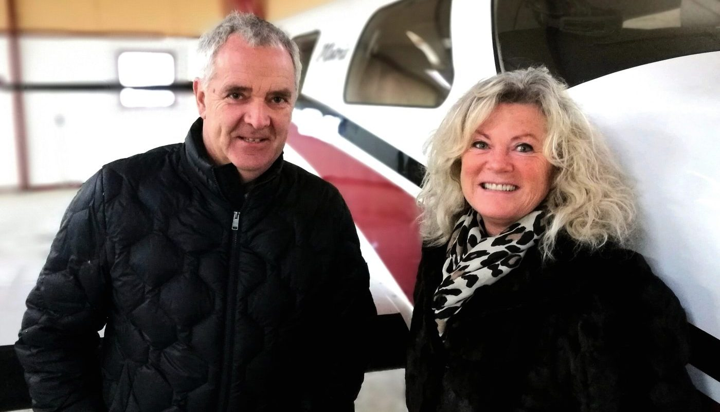 Bjarne and Katja, owners of European Aircraft Sales