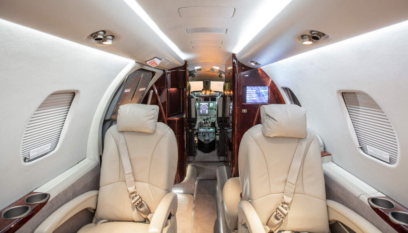 2007 Citation XLS Cabin Front