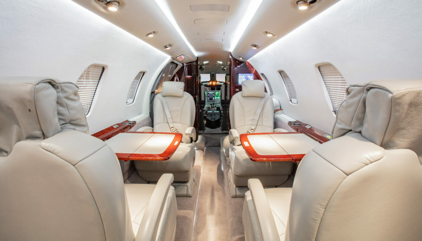 07 Citation XLS Interior