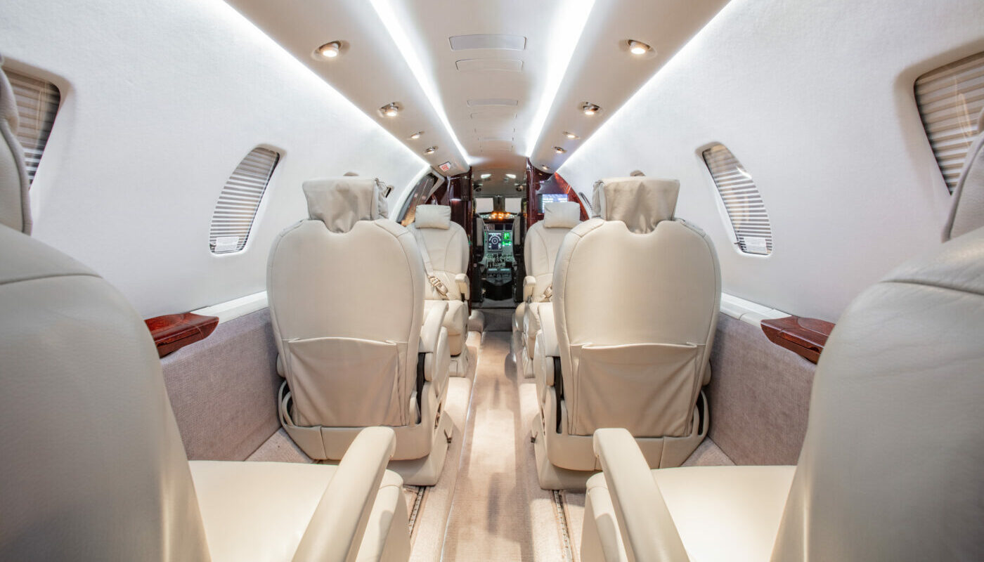 Interior On Cessna Citation XLS