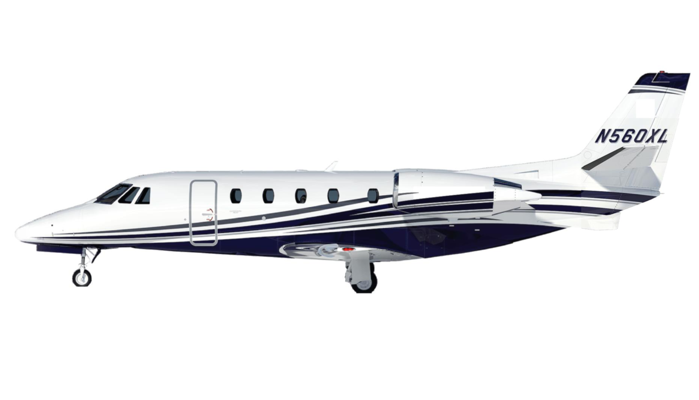 Paint Scheme Of The Citation XLS