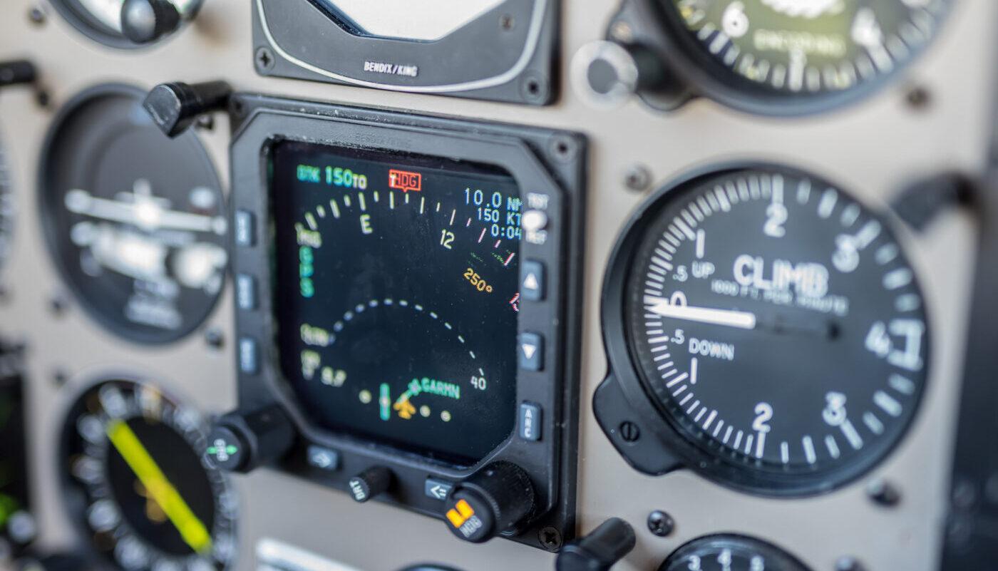 D-ESTT Avionic Detail