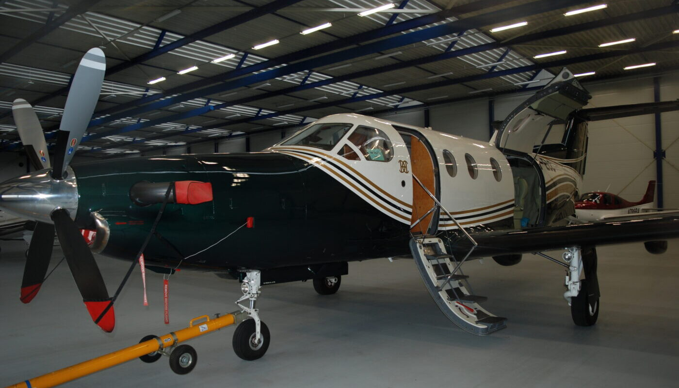 Pilatus PC-12, PH-ECC