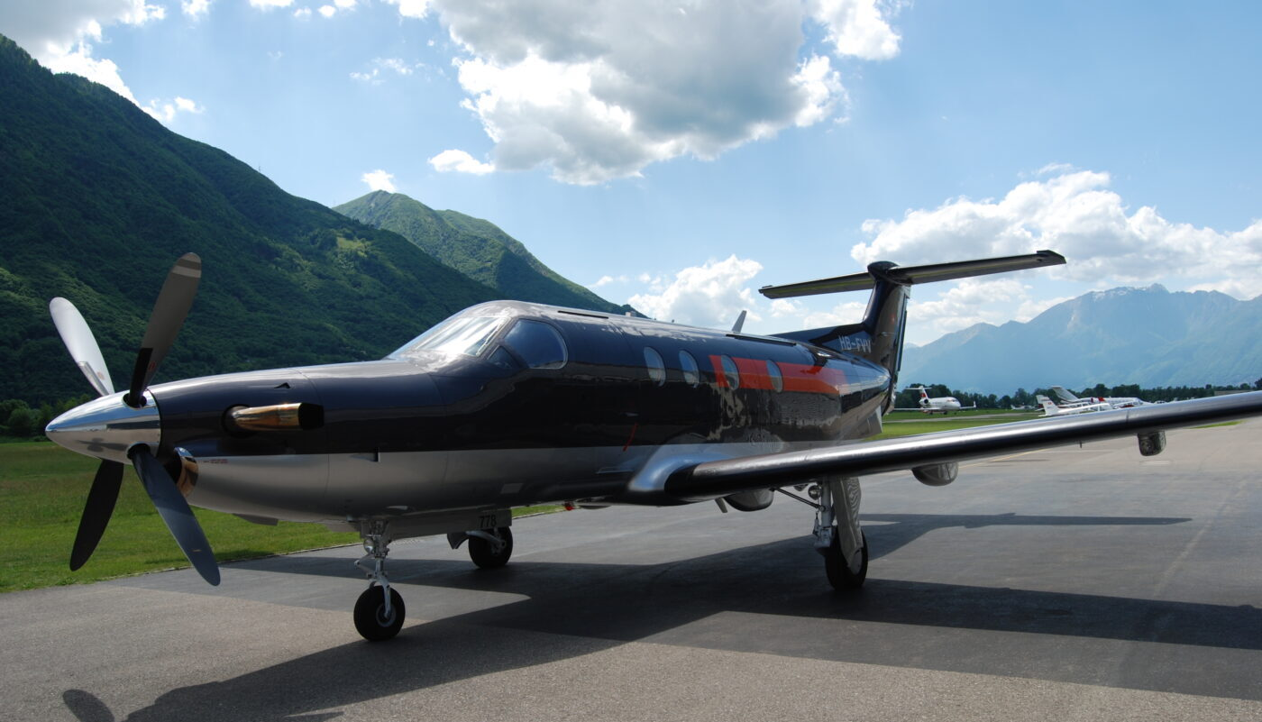 Pilatus PC-12, HB-FVV