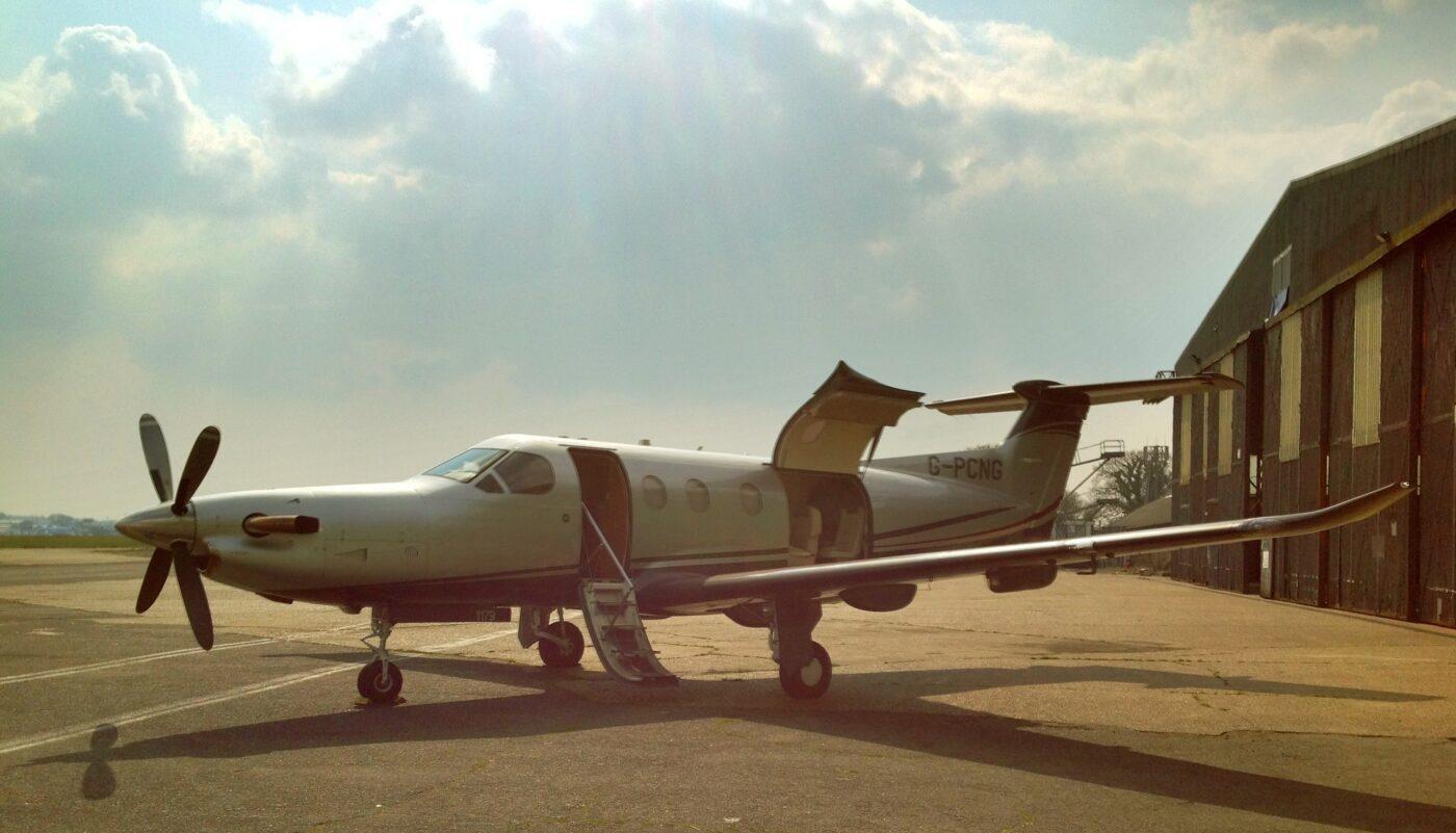 Pilatus PC-12, G-PCNG