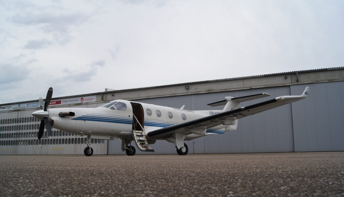 Pilatus PC-12, HB-FPW
