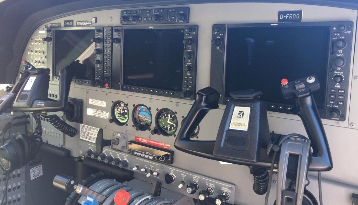 Cessna Grand Caravan, D-FROG, Avionic
