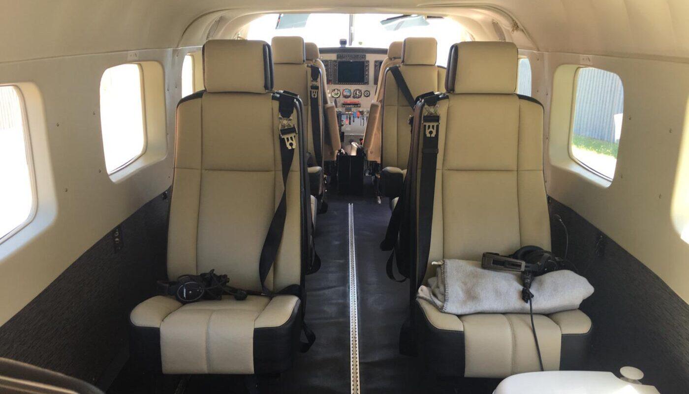 Cessna Grand Caravan, D-FROG, Interior