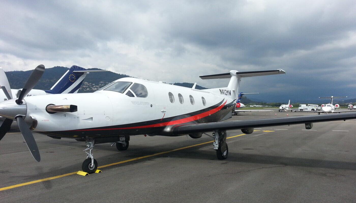 Pilatus PC-12, N412MW