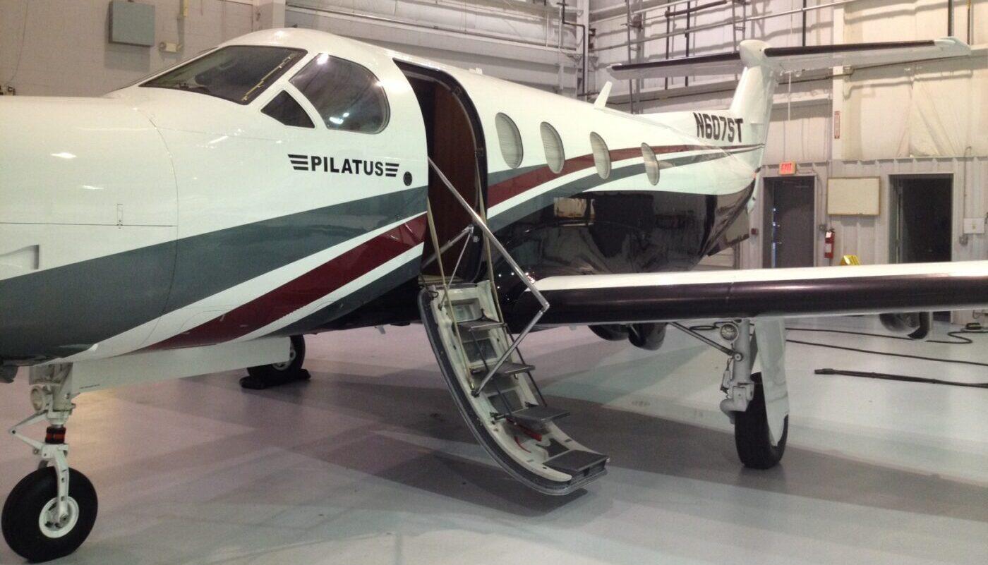 Pilatus PC-12, N607ST