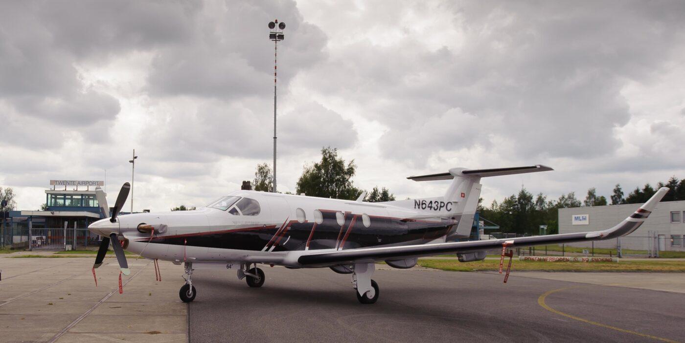 Pilatus PC-12, N643PC