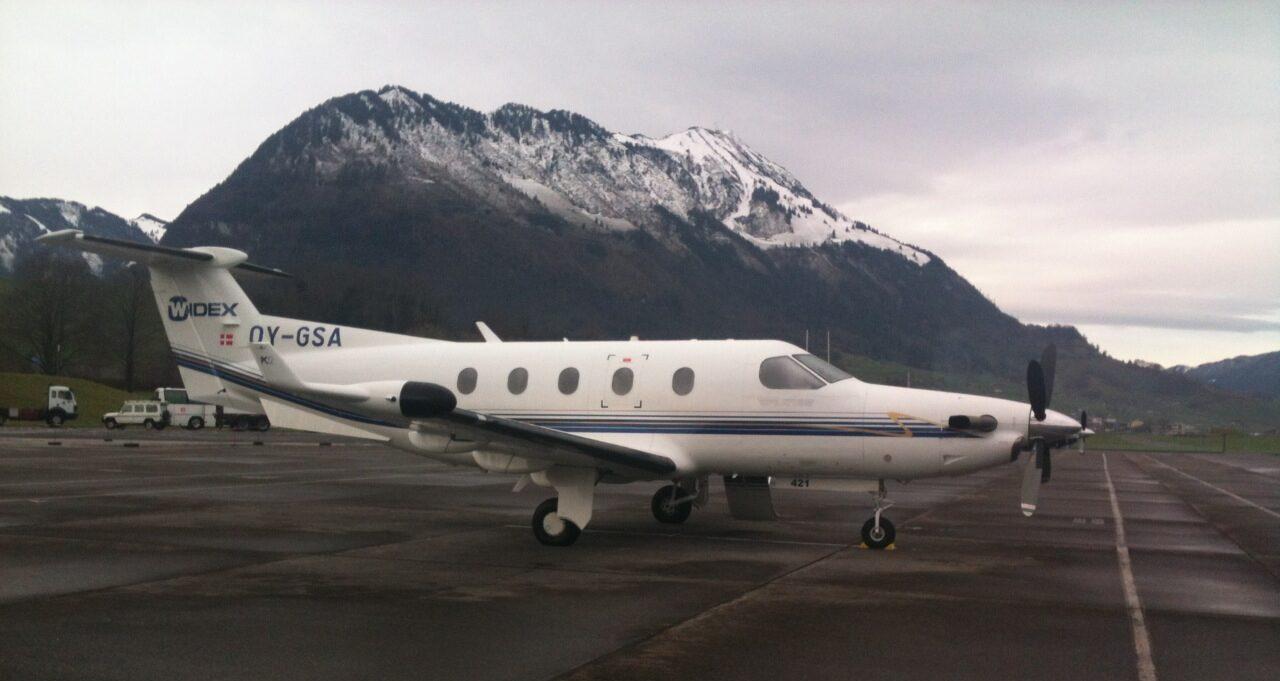 Pilatus PC-12, OY-GSA