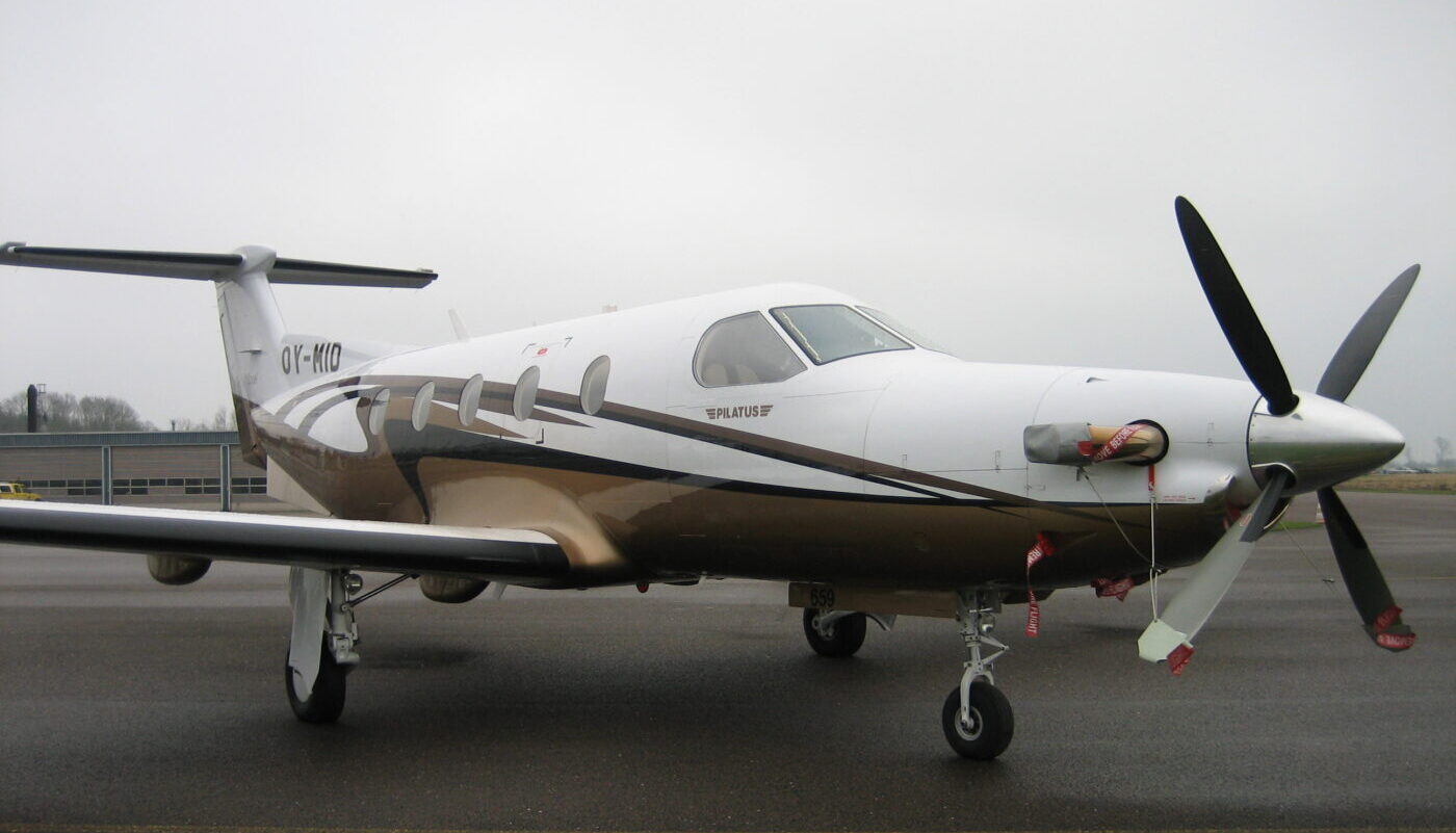 OY-MID, Pilatus PC-12/45