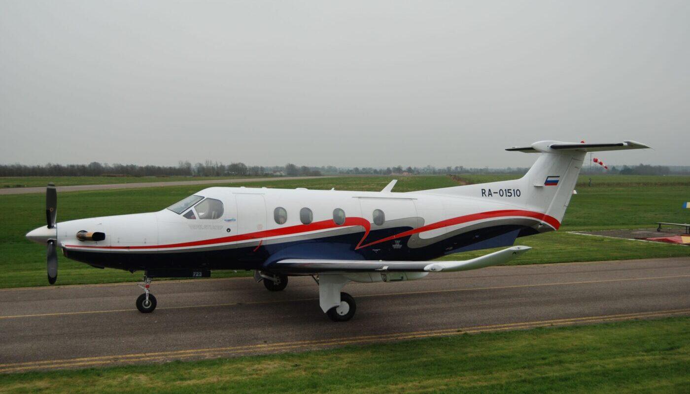 Pilatus PC-12, S/N 723