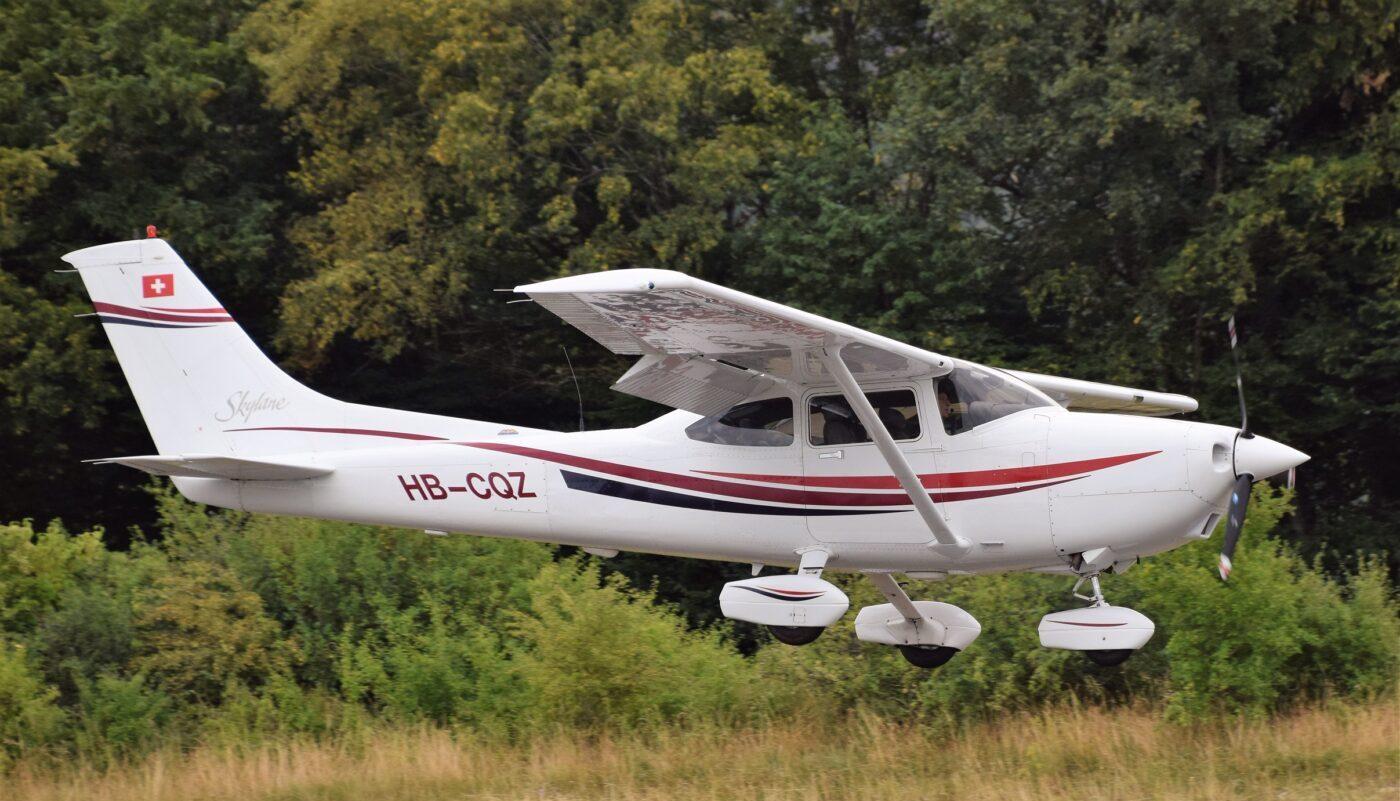 HB-CQZ Landing