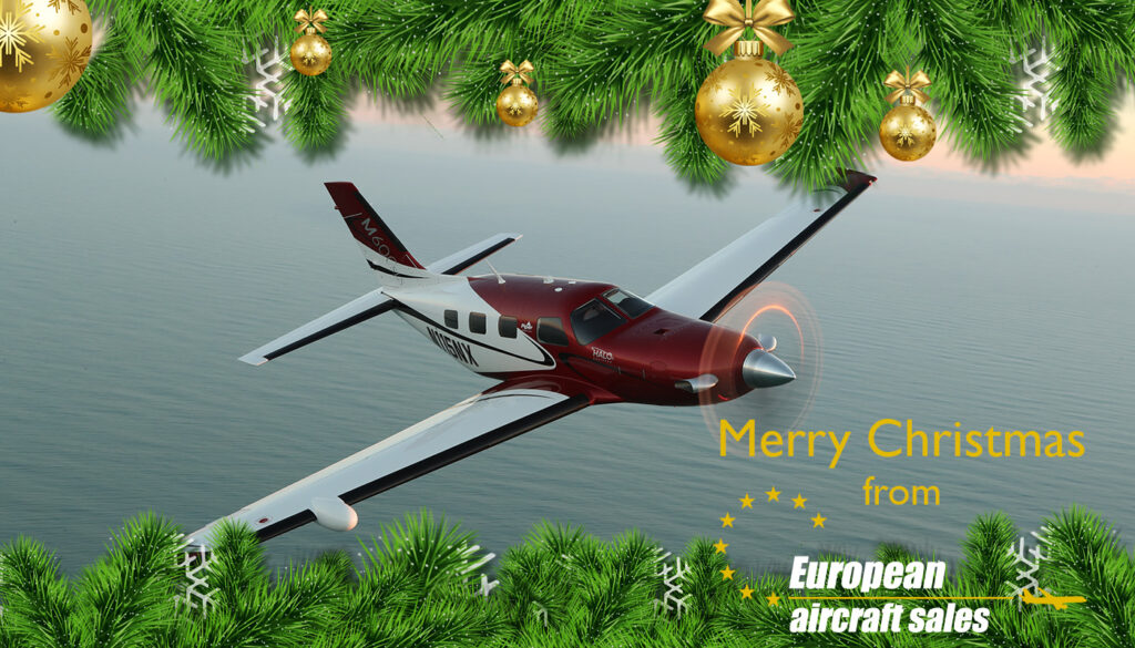 Christmas aircraft