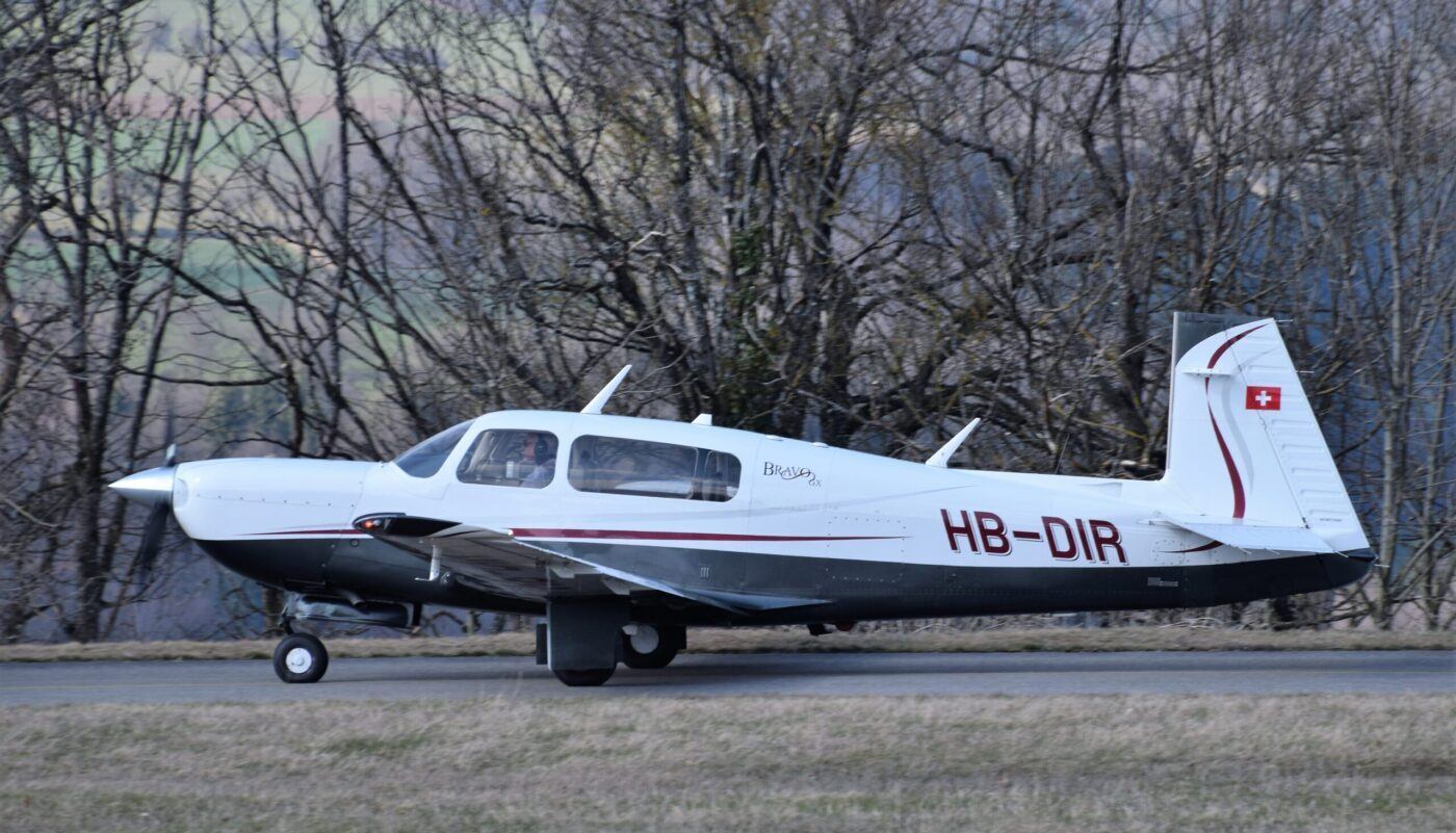 Mooney M20M, HB-DIR, Left