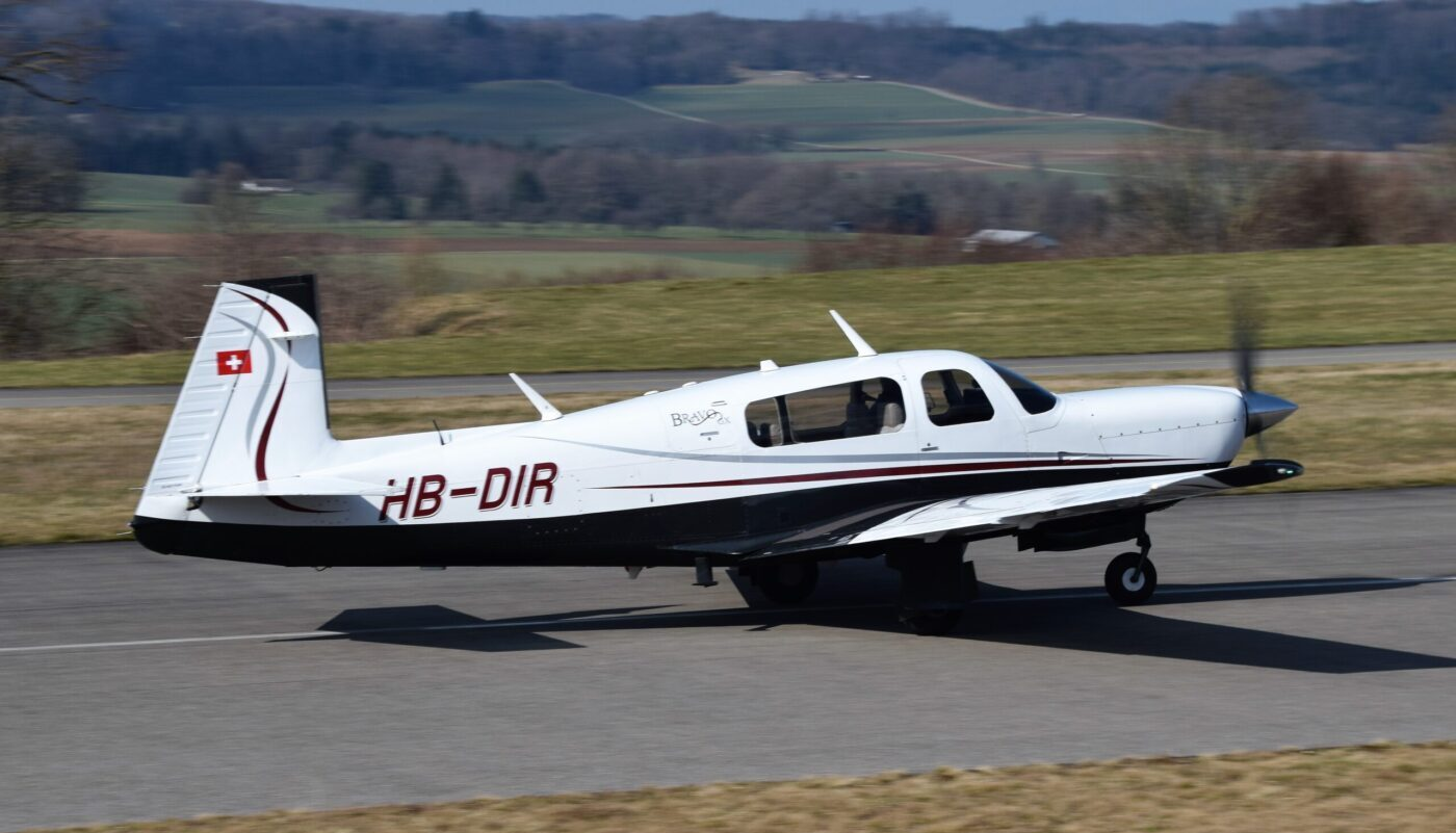 Mooney M20M, HB-DIR, Right
