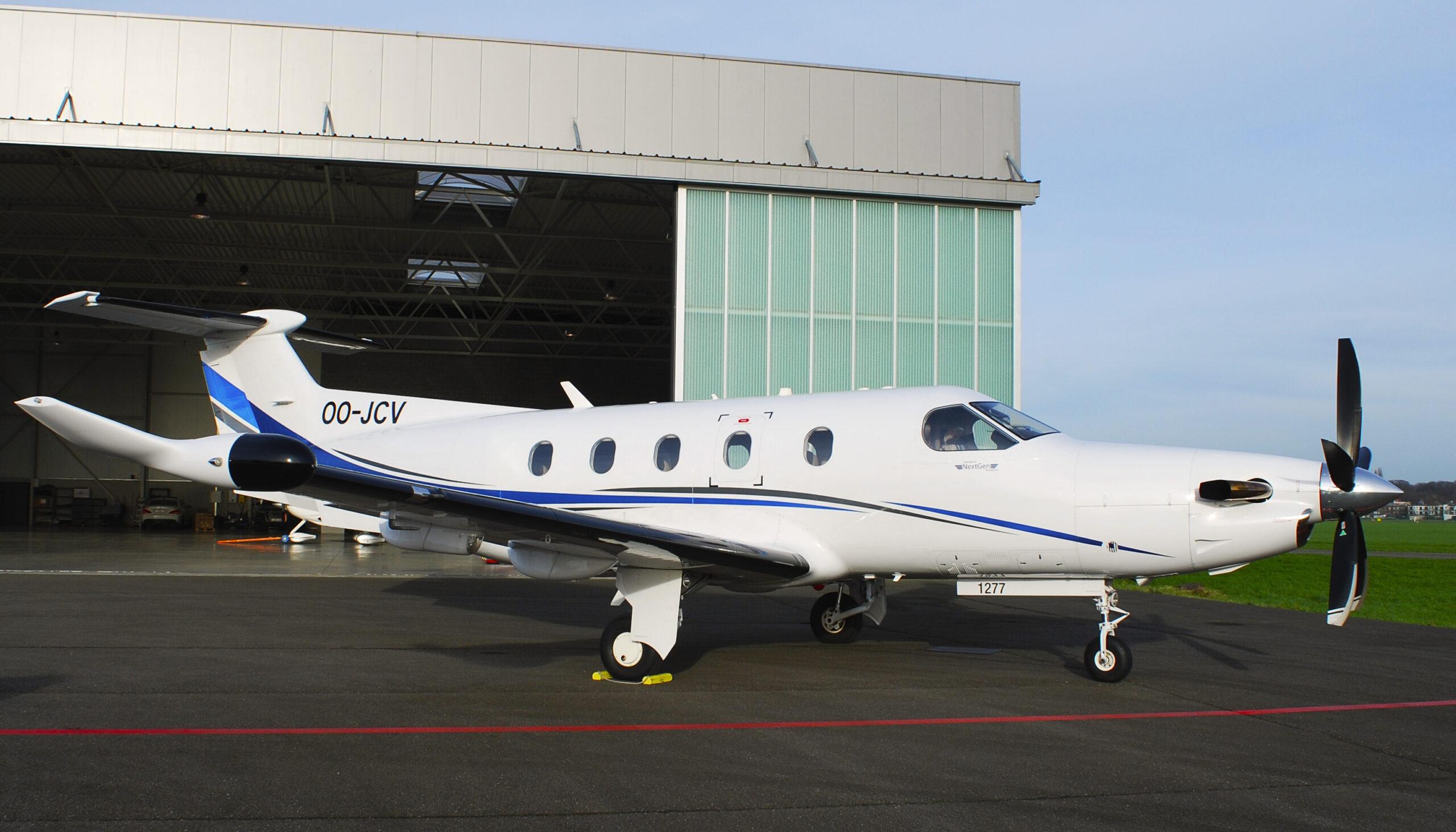 2011 Pilatus PC-12 NG, OO-JCV